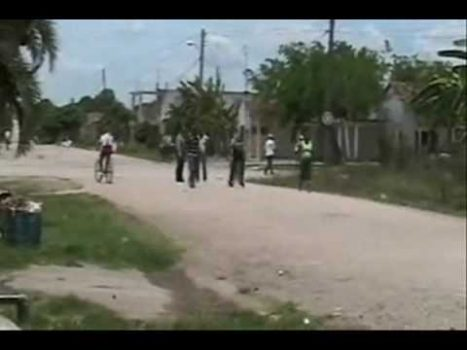 Police brutality in Cuba