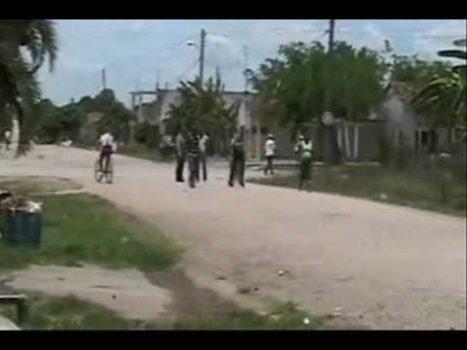 Police brutality in Cuba