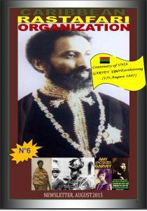 Carribean Rastafari Organization – Newsletter August 2015