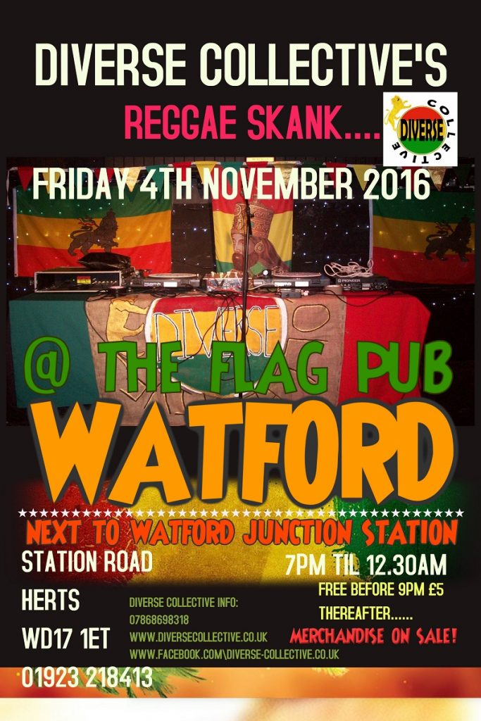 FRIDAY NOV 2016 FLYER THE FLAG