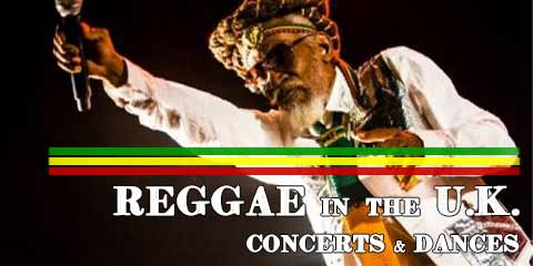 Reggae concerts and dances in UK