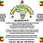 Carribean Rastafari Organization Media Statement on Reparations (following David Cameron visit)