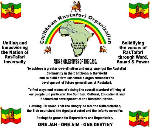 Invitation to the 9th Caribbean Rastafari Organisation Conference
