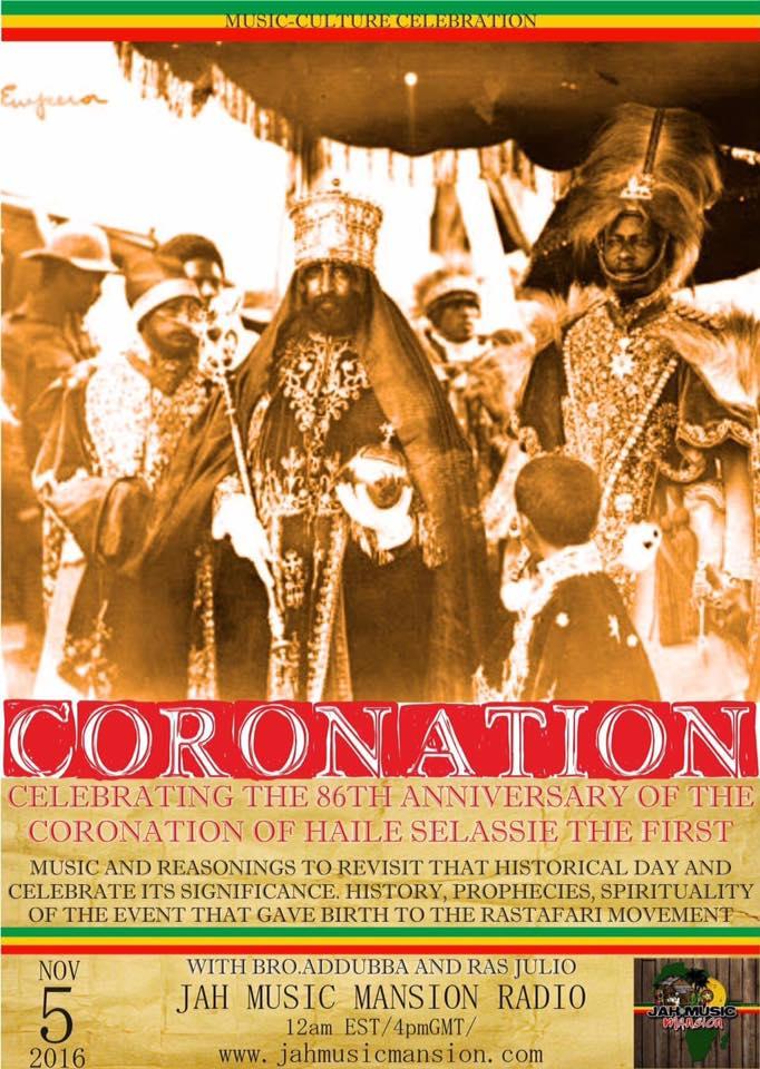 Iyahbingi radio show | Coronation Special