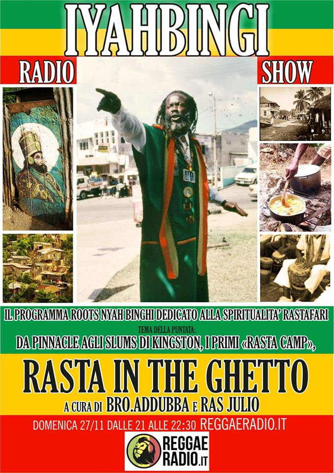 Iyahbingi radio show | Rasta in the ghetto