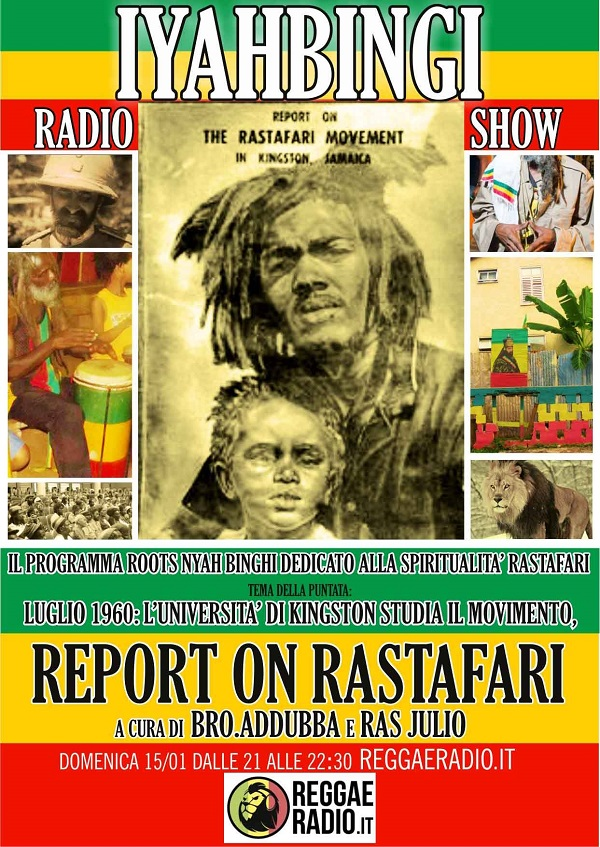 Iyahbingi radio show | Report on Rastafari
