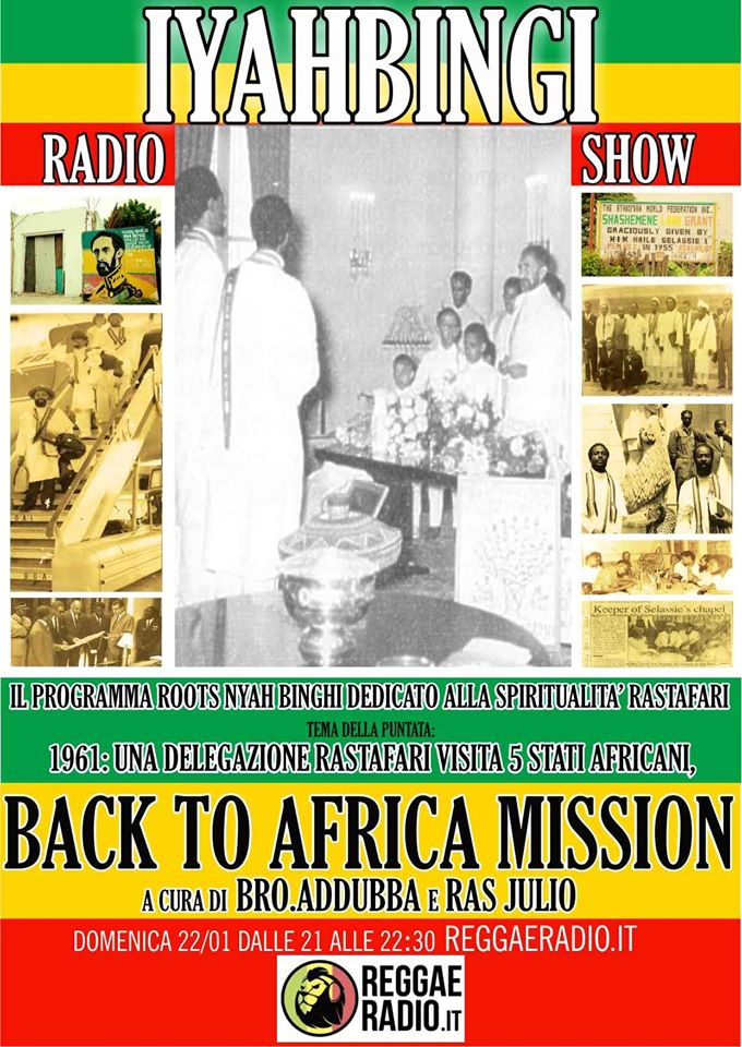 Iyahbingi radio show | Back to Africa mission