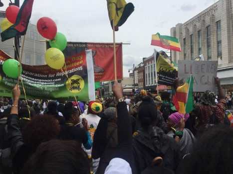 Emancipation Day Rally Report