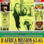 Iyabinghi radio show | 2nd Africa Mission 1963/65