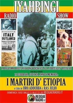 Iyahbingi radio show | I martiri d'Etiopia