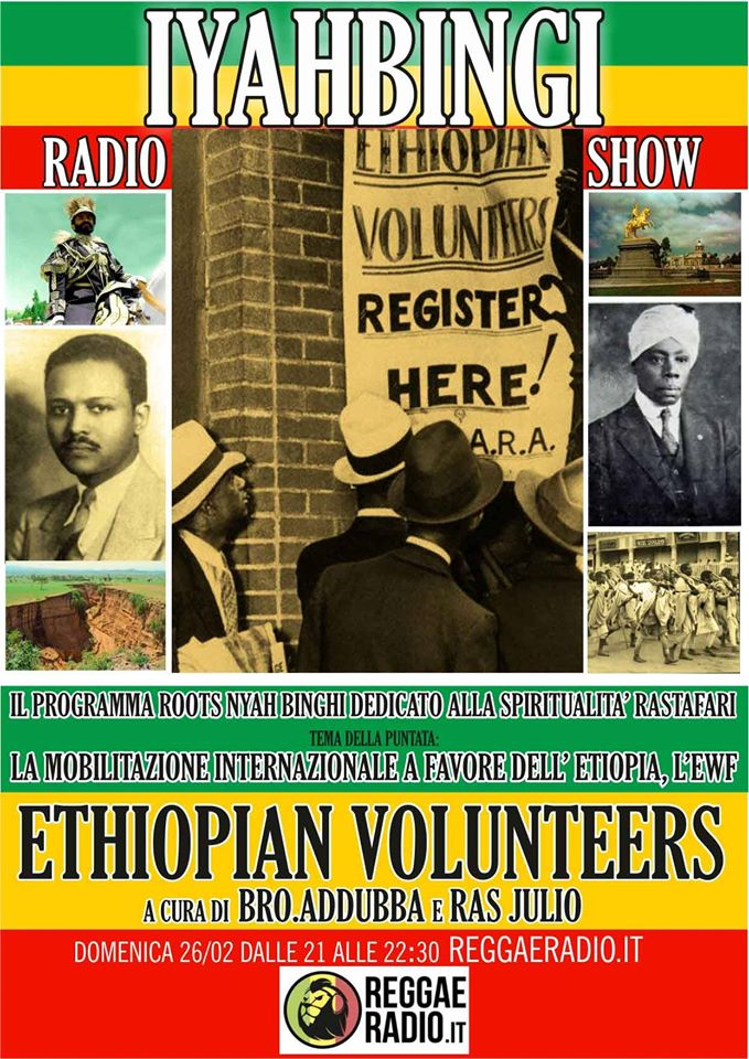 Iyahbingi radio show | Ethiopian Volunteers