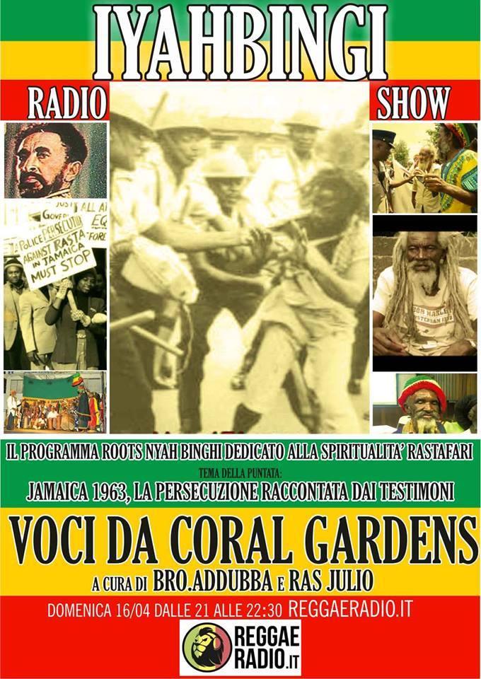 Iyahbingi radio show | Voci da Coral Gardens