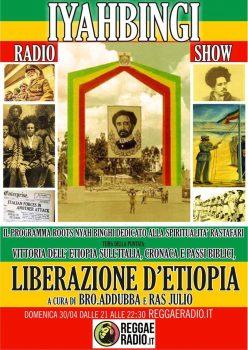 Iyahbingi radio show | Liberazione d'Etiopia