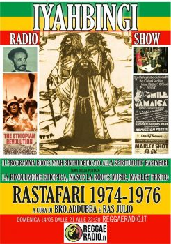 Iyahbingi radio show | Rastafari 1974 – 1976