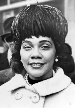 Coretta Scott King passes