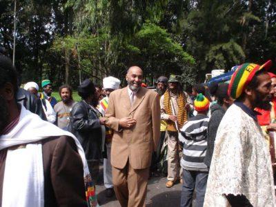 HIH Zere Yaqob at Jubilee Palace