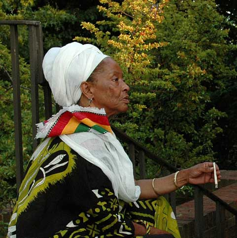 Celebration of Life Ceremony for  Rastafari Nyahbinghi Elder Fiyah Joy Mama Loi Iration