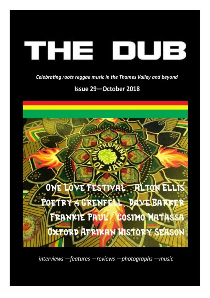 The Dub | Issue 29 – October 2018