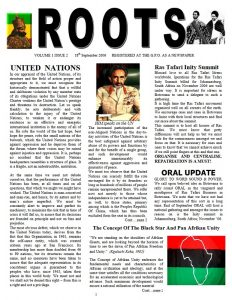 Roots Magazine | Volume 1 – Issue 2