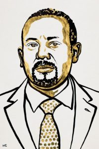 Ethiopia's Prime Minister Abiy Ahmed Ali wins Nobel Peace Prize
