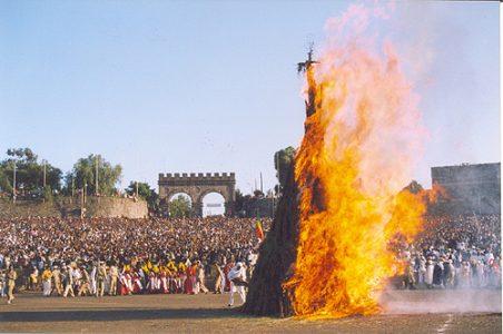 "Meskel Day and the origin of the name ""Rastafari Movement"""