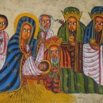 Rastafari meditation on the birth in the history of Israel