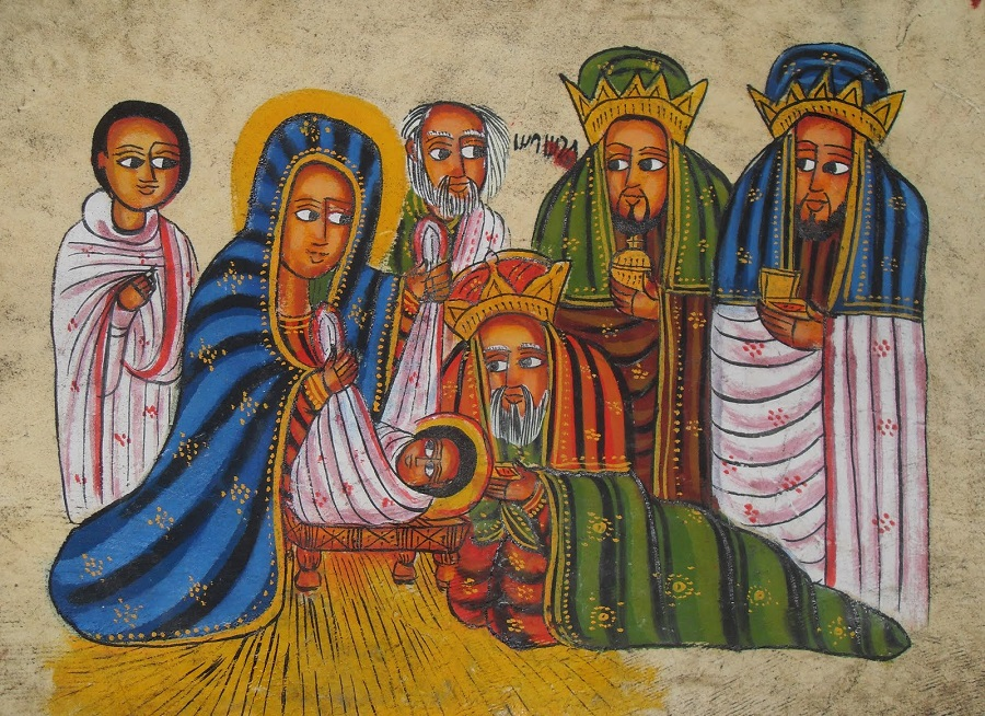 Rastafari meditation on the birth in the history of Israel