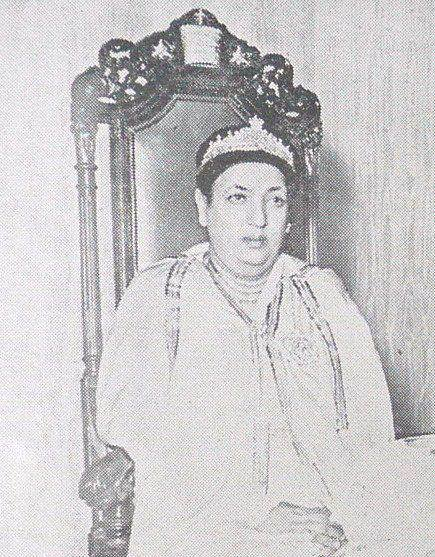 Her Imperial Majesty Empress Menen Asfaw (Walata Ghiorghis ...
